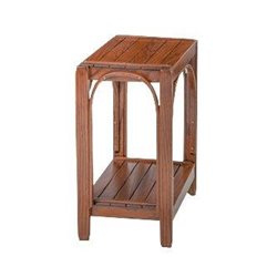 Oak 2 Tier Side Table in Michael's Cherry Stain
