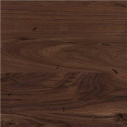 Black Walnut Live Edge Dining Table with Rochester Base - Various Sizes