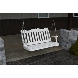 4 Foot Poly Royal English Porch Swing