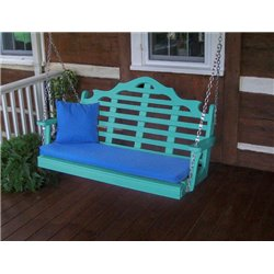 Aruba Blue w/ Seat Cushion - Pillow NOT Included