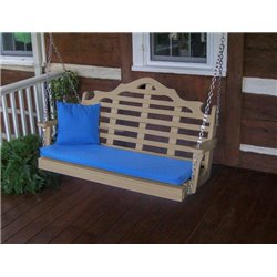 Weather Wood w/ Seat Cushion - Pillow NOT Included