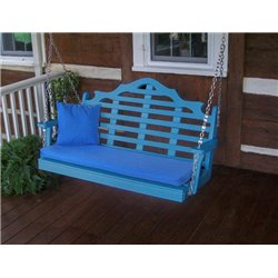 Blue w/ Seat Cushion - Pillow NOT Included