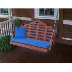Cherrywood w/ Seat Cushion - Pillow NOT Included