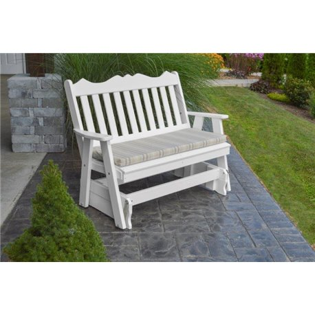 White w/ Gray Stripe Seat Cushion