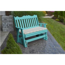 Aruba Blue w/ Grap Stripe Seat Cushion