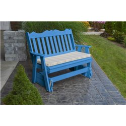 Blue w/ Grap Stripe Seat Cushion