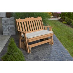 Cedar w/ Grap Stripe Seat Cushion