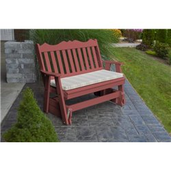 Cherrywood w/ Grap Stripe Seat Cushion