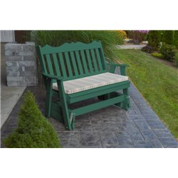 Turf Green w/ Grap Stripe Seat Cushion