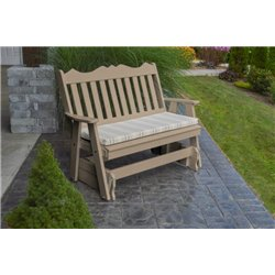Weather Wood w/ Grap Stripe Seat Cushion