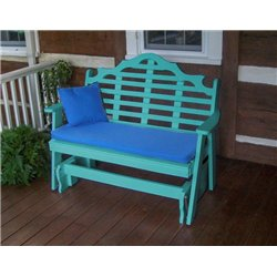 Aruba Blue Shown with Blue Cushion - Pillow Sold Separately