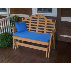 Cedar Shown with Blue Cushion - Pillow Sold Separately