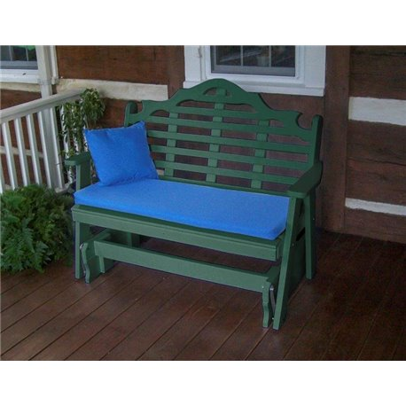 Turf Green Shown with Blue Cushion - Pillow Sold Separately