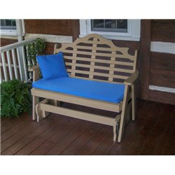 Weather Wood Shown with Blue Cushion - Pillow Sold Separately