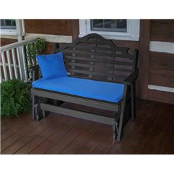 Black Shown with Blue Cushion - Pillow Sold Separately