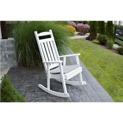 Poly Porch Rocker