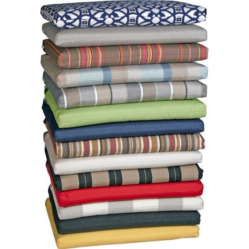 Indoor Dining Room Chair Cushions: Indoor/Outdoor Dining Chair Seat Cushion