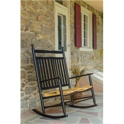 Outdoor Hardwood Ash Breezy Acres Old Squire Love Seat Rocker