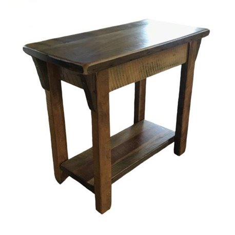 Barn Wood Sofa Table Rustic Accent With Lower Shelf