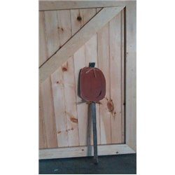 Pumpkin Garden Stake - Primitive Rustic Pine Outdoor Ground Stake