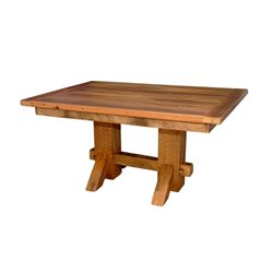 Double Pedestal Dining Table 5 Foot