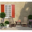 Poly Lumber Bentwood Style Angled Settee - 7 Premium Colors