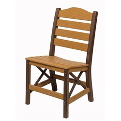 Side Chair shown in Cedar & Brown