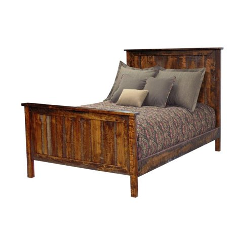 Timberline Panel Bed in Rough Sawn Maple - Full, Queen, or King