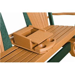 Poly Lumber Fanback Double DELUXE Glider - 7 Premium Colors