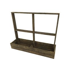 Window Shelf Box Planter from Reclaimed Tobacco Lath Board