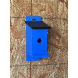 Bluebird Mounting Bird House with Clean Out on Poly Lumber