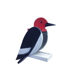 Hanging WOODPECKER Shaped Bird Feeder