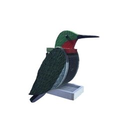 Hanging HUMMINGBIRD Shaped Bird Feeder