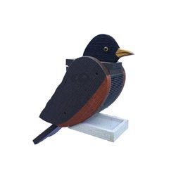 Hanging ROBIN Shaped Bird Feeder