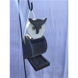 Hanging OWL Shaped Bird Feeder