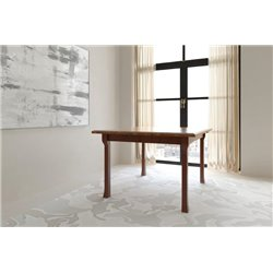 Cluff Leg 5 Foot Rectangle Dining Table with Extensions