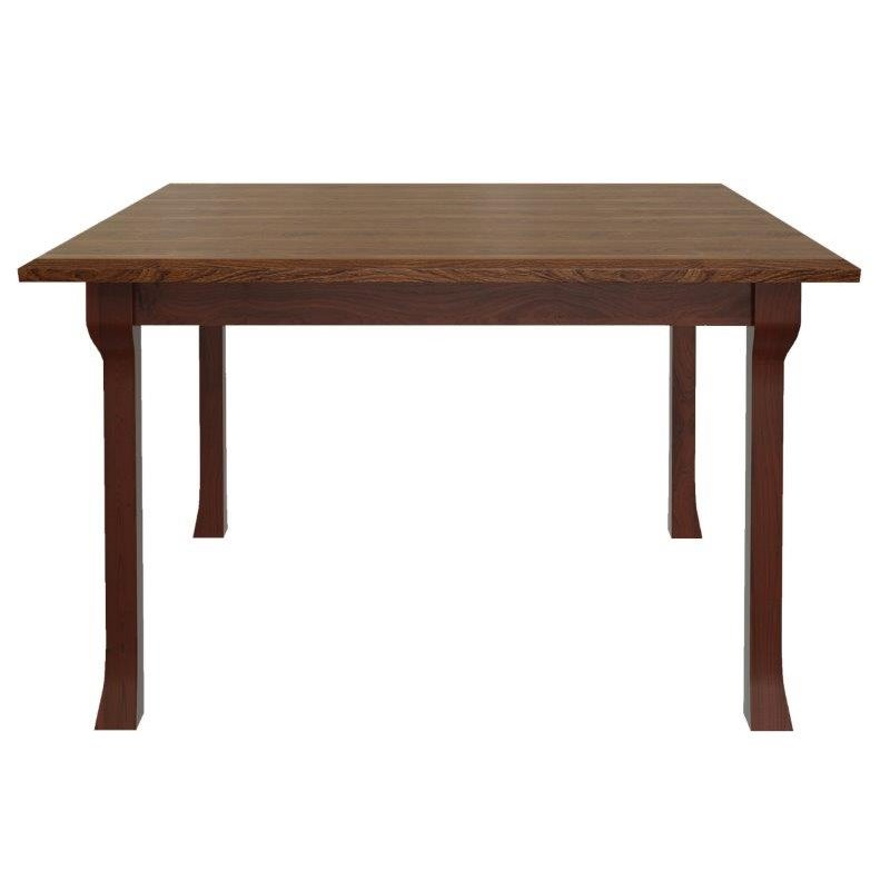 Square Rectangular Modern Dining Table Legs Industrial: Cluff Leg 5 Foot Rectangle Dining Table With Extensions