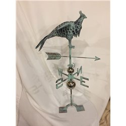 Outdoor Copper EAGLE Weathervane - Patina Finish