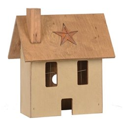 Small Primitive House in Beige