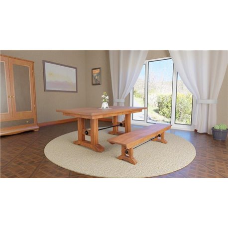 timeless design aaccb 1b883 Taylor Double Pedestal 6 Foot Dining Table