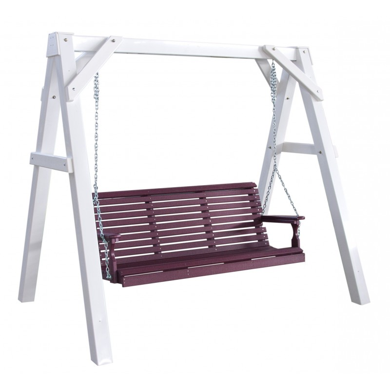 Poly Vinyl A Frame Swing Stand