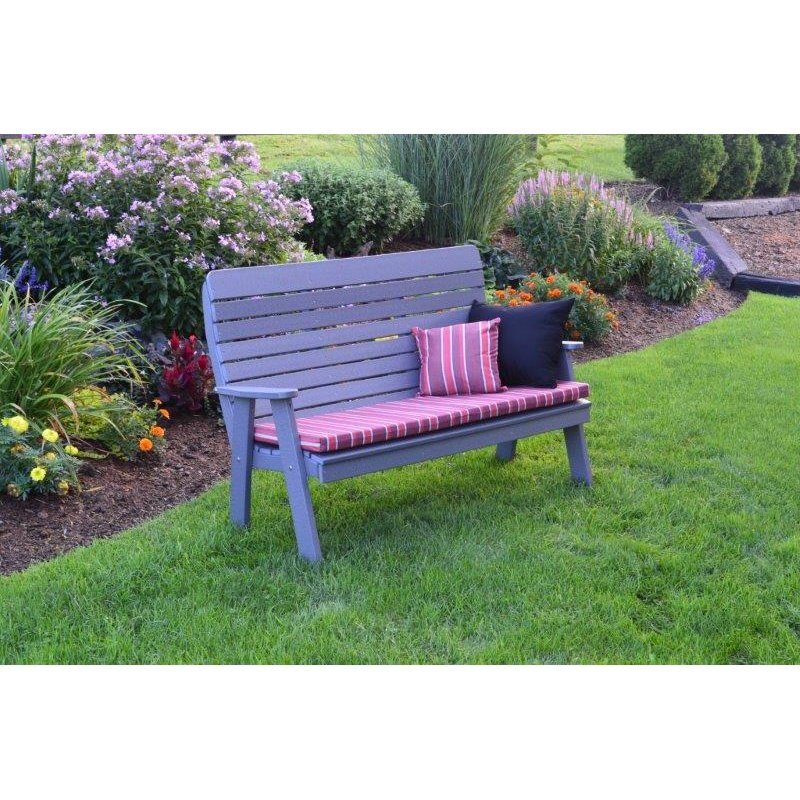 Dark Gray with Optional Cushion and Pillows