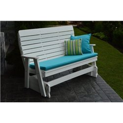 White shown with OPTIONAL Cushion and Pillows