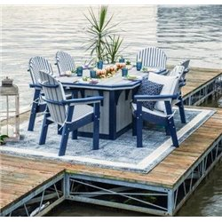 Shown in Driftwood Gray & Patriot Blue