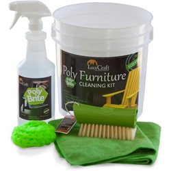 Poly Brite Cleaner for Poly Lumber Outdoor Furniture