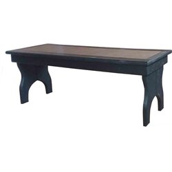 Poly Lumber Backless Benches - 4 Sizes - 18 Standard Colors
