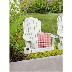 Poly Lumber Adirondack Swing Chair with Chains