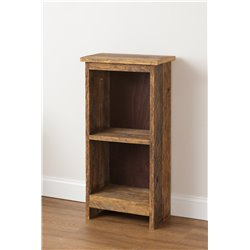 Rustic Reclaimed Oak Bookshelf