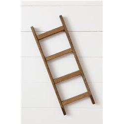 Rustic Tobacco Lath Board Decorative Ladder