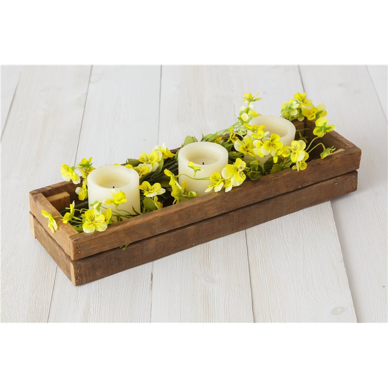 Rustic Reclaimed Candle Box